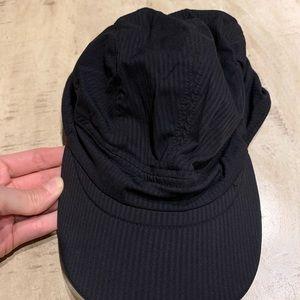 Lulu lemon black running hat